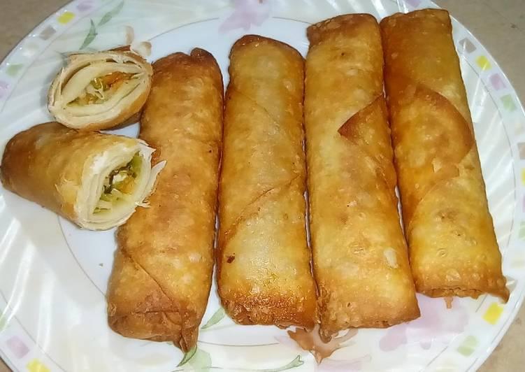 Chicken Spring Rolls (Ramadan Special)
