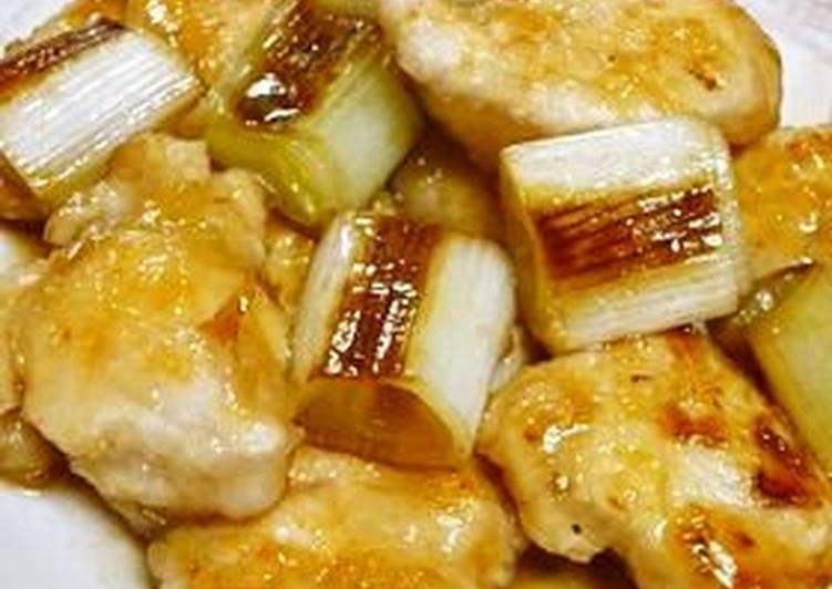 Salted Chicken Breast, Yakitori Teriyaki Style