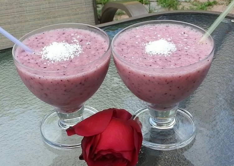 15 Minute Steps to Prepare Spring My exotic smoothie