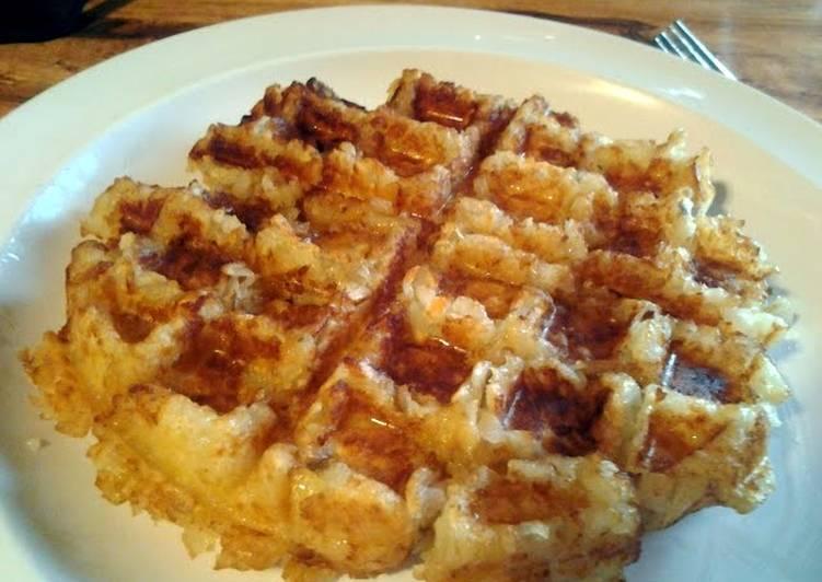 Recipe: Appetizing Tator Waffle