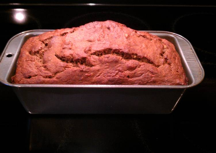 Recipe: Yummy TIM's Cinnamon Walnut Banana Bread
