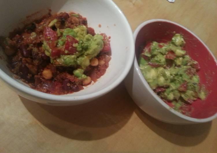 Recipe of Ultimate Mexican quinoa & bean casserole (V)