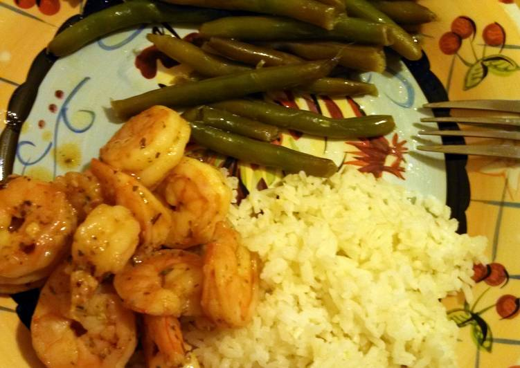 Steps to Prepare Homemade spicy shrimp scampi