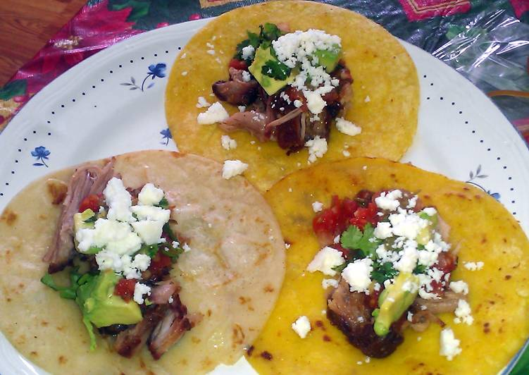 Authentic Mexican Carnitas