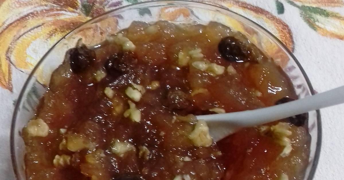Mermelada De Manzanas Canela Nueces Y Pasas Receta De Sabor A Mamá Cookpad