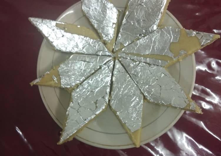 Kaju katli recipe(cashew barfi)