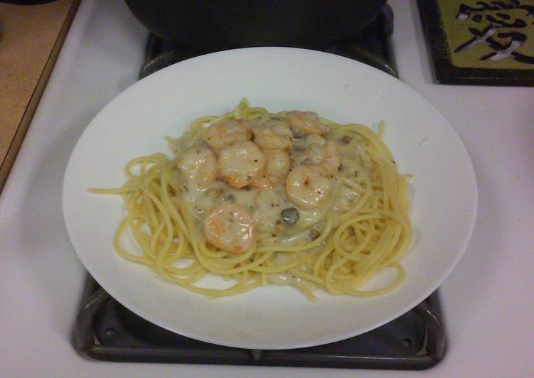 How to Prepare Favorite The infamous Shrimp Linguine cheat!