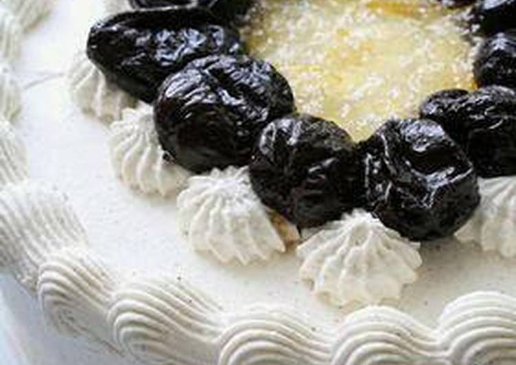 Easiest Way to Make Homemade Black Tea Scented Decoration Cake