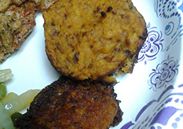 Butter Nut Squash Cakes