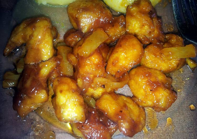 Recipe of Perfect Radzzz Orange/Pineapple Chicken