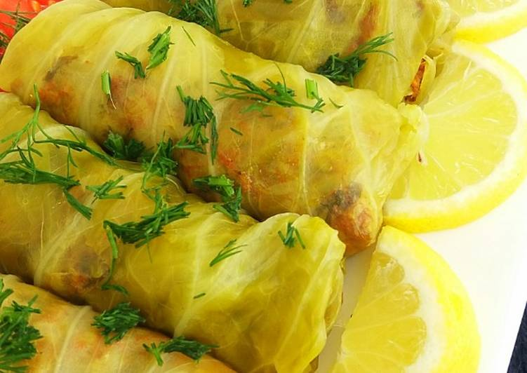 Cabbage  Rolls, Help Your To Be Healthy And Strong with The Right Foods