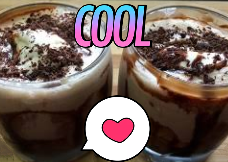 Cold coffee with icecream
