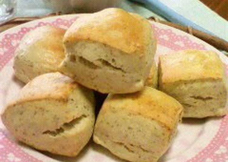 Recipe: Delicious Fragrant Soy Milk & Rye Flour Scones