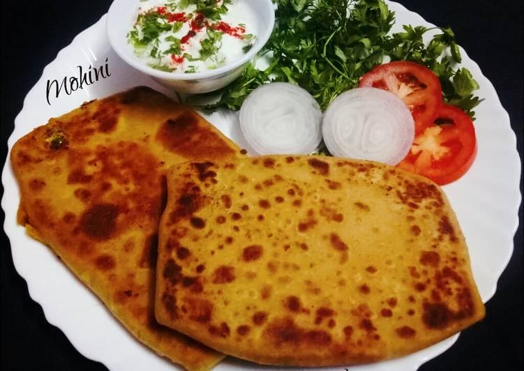 Steps to Make Speedy Mughlai paratha