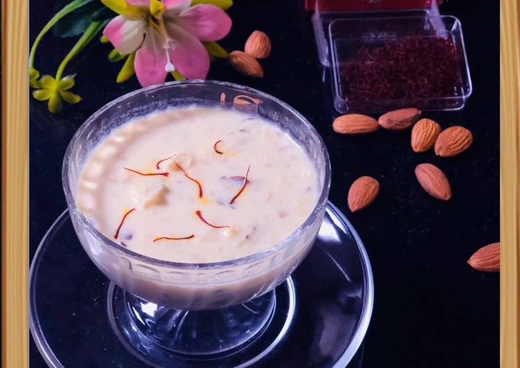Information on How to Boost Your Mood with Food PANEER MAKHANA KHEER (LotusSeed and cheese dessert)