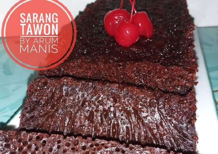 """Kue Karamel """"Sarang Tawon"""" - cookandrecipe.com"""