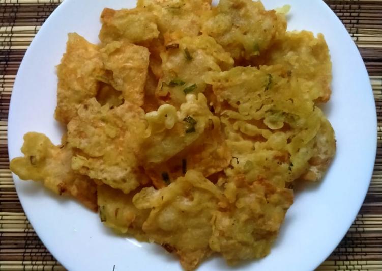 Tempe goreng tepung crispy simpel