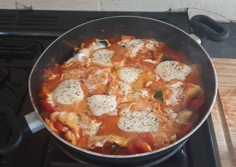 Recipe: Yummy Wok Lasagne