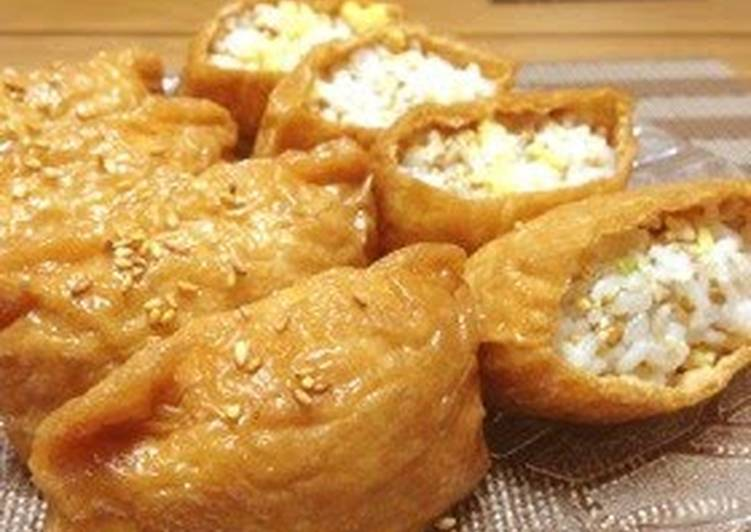 Wasabi Inari for Cherry-Blossom Viewing (from March Comes in Like a Lion)