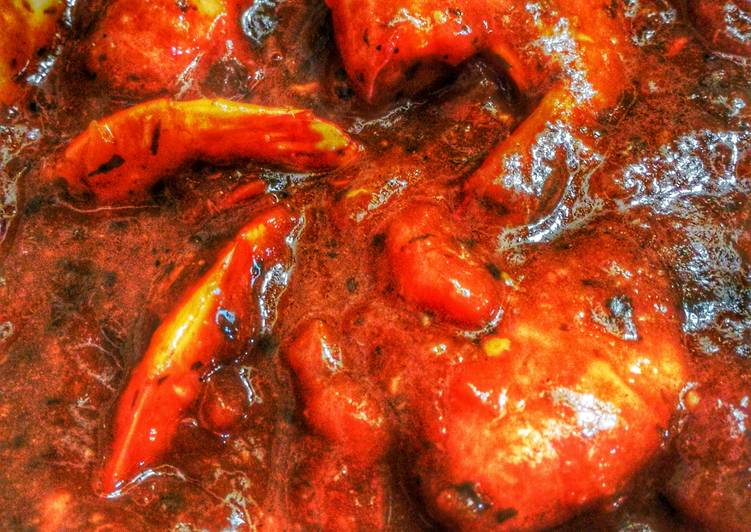 Nilasing Na Hipon (Shrimp Smothered in Beer)