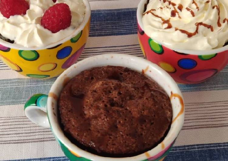 Recipe: Perfect Keto mug cake
