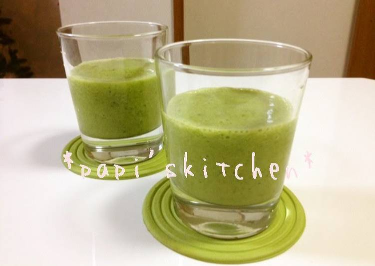 Lose Weight the Healthy Way! Vegetable Smoothies