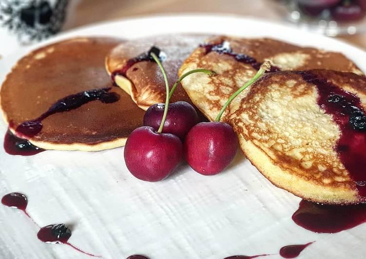 Pancakes alla vaniglia