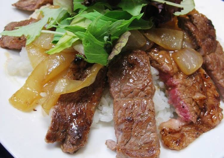 Do Not Waste Time! 10 Facts Until You Reach Your Cafe Style Steak Rice Bowl With Seriously Delicious Butter-Soy Sauce
