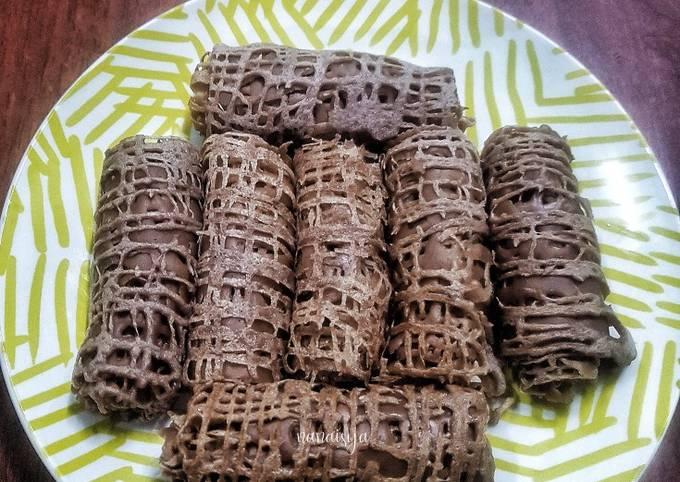 Resep Roti Jala Chocolate yang Bisa Manjain Lidah