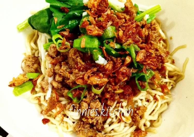 Resep Bakmi Bangka dengan Babi Cincang oleh finnies.kitchen - Cookpad