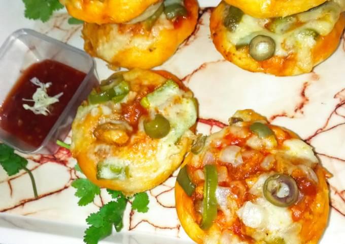 Easiest Way to Prepare Tasty Chicken bbq pizza muffins