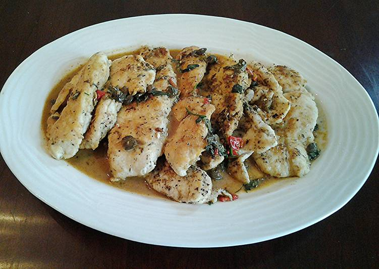 Recipe of Favorite Chicken Piccata