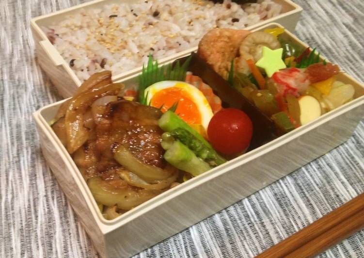 "Recipe of Perfect The Flavor of Muroran ""Yakitori"" Bento"