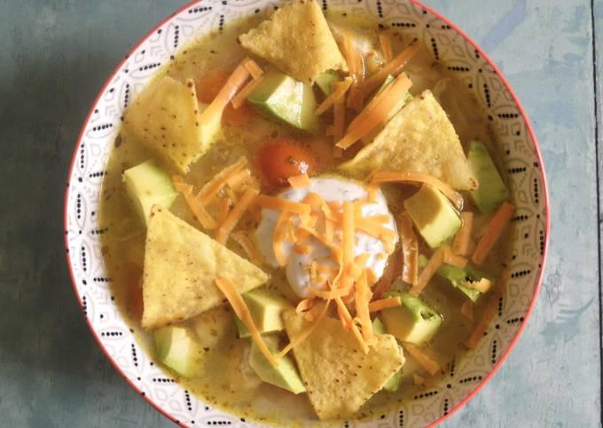 Chicken Avocado Soup