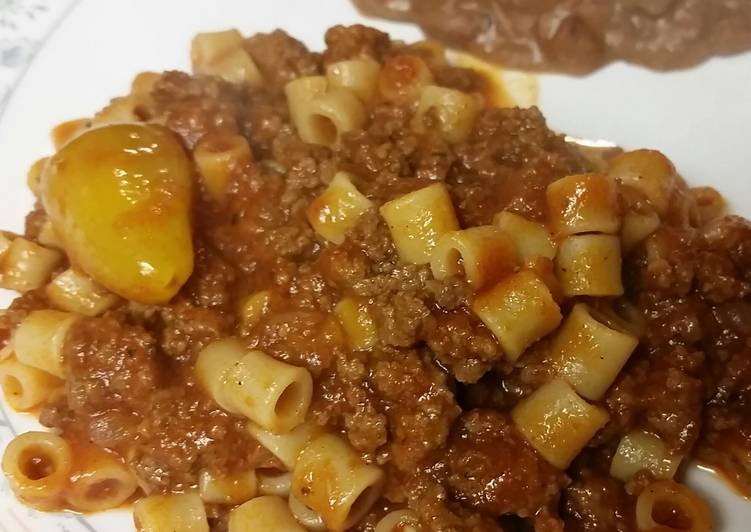 Old Fashioned Dinner Ideas Cooking Mexican Macaroni & Meat