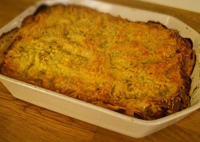 Light Chicken Lasagna