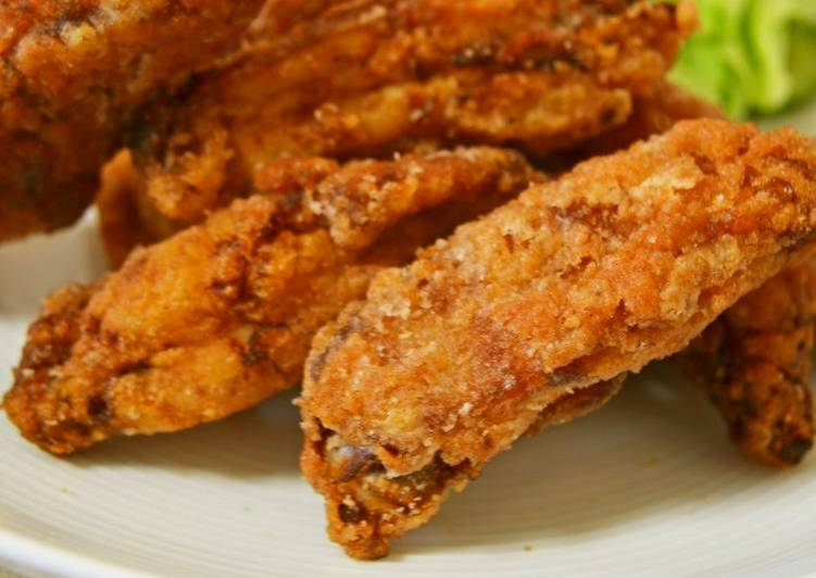 30 Minute Steps to Prepare Spring Spicy Curry Fried Chicken Wings