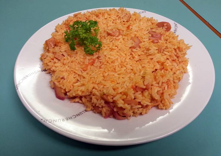 Recipe of Homemade tomato fried rice