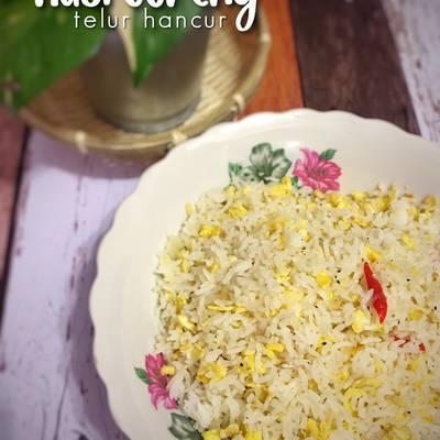 Resipi Nasi Goreng Telur Hancur Oleh Aisha Ridwan Cookpad