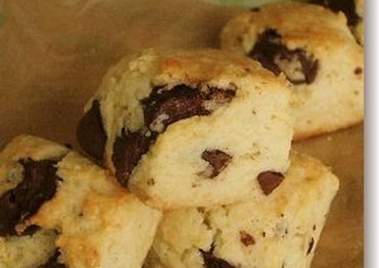 Easy Chocolate Scones