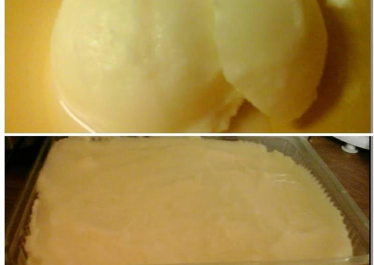 How to Make Super Quick Homemade Lemon Gelato 😃