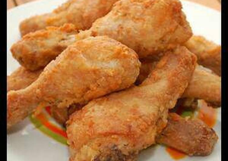 دجاج مقلي مثل المطاعم