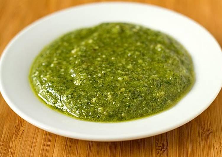 Pesto dip/sauce