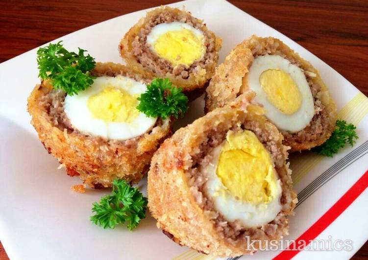 Easiest Way to Cook Appetizing Scotch Eggs