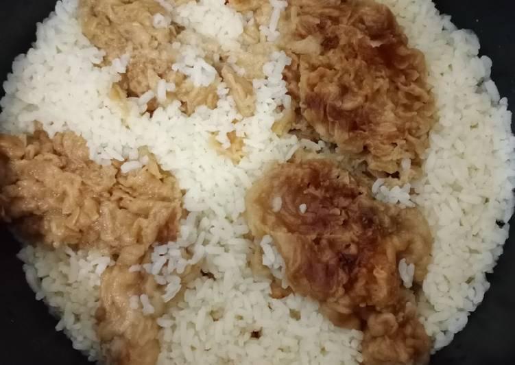 Bagaimana Menyiapkan Nasi 'liwet' KFC simple Anti Gagal