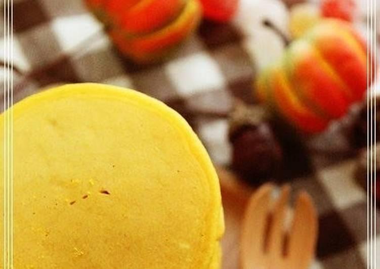 Steps to Make Award-winning Kabocha Squash Pancakes for Halloween