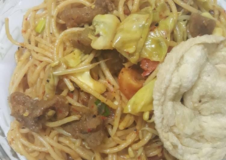 Spagetti Goreng Aceh