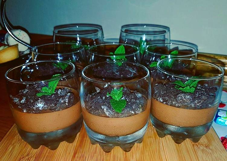Recipe: Delicious Chocolate Mousse Pots
