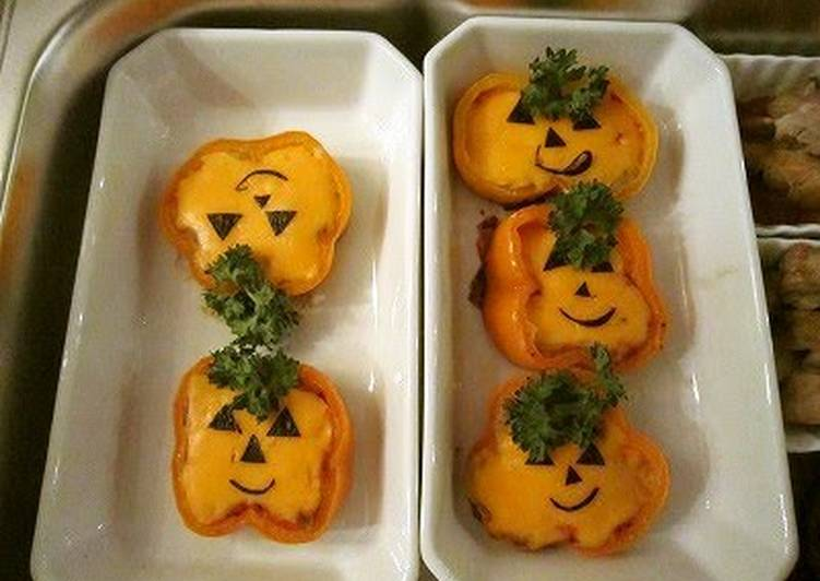 Living Greener for Good Health By Dining Superfoods Stuffed Bell Peppers for Halloween