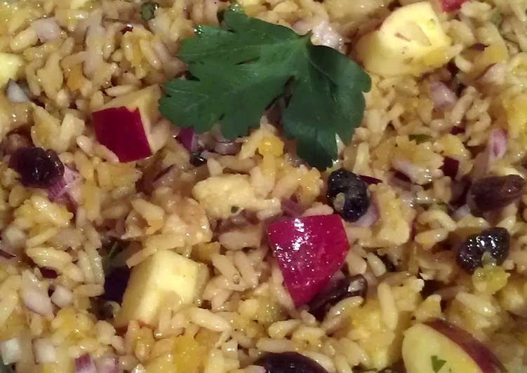 Easiest Way to Prepare Delicious Vickys Autumn Harvest Rice, GF DF EF SF NF